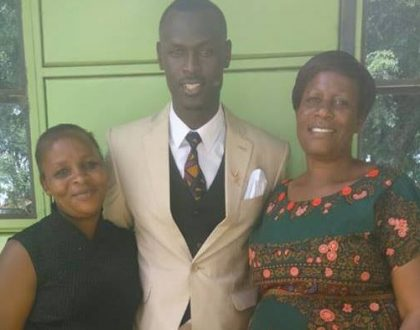 """My mother is better than Obama, Mandela and Maathai"" King Kaka shows off his mom as he brags about how she is the ultimate hustler"