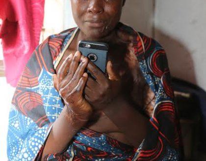 Magufuli helps woman