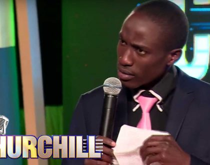 """""""Where was your a** when he needed help the most"""" Churchill Show's Njoro and Kameme FM presenter fight over a talented old man"""