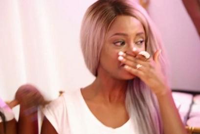Vanessa Mdee breaks down in tears