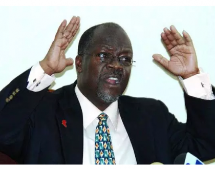 After finishing up with drug traffickers, president Magufuli threatens to release a list of all famous gay people in Tanzania..Which celebrities will make the list?