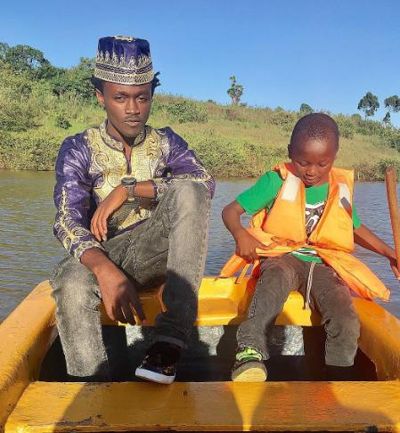 Bahati's son