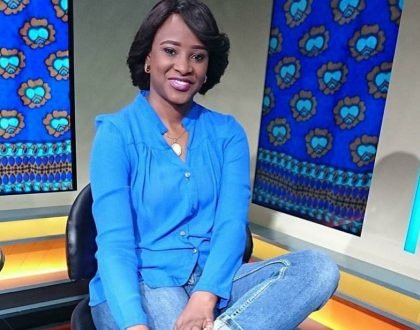 COVER YOURSELVES! Citizen TV's Kanze Dena starts war with Vera Sidika, Huddah Monroe and other ladies who expose TOO much skin