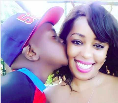 Lilian Muli hanging out with her son, Joshua Munene