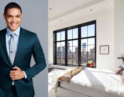 From paying Kes 1.5 million a month for rent to buying Kes 1 billion house! 10 photos of the penthouse popular comedian Trevor Noah bought