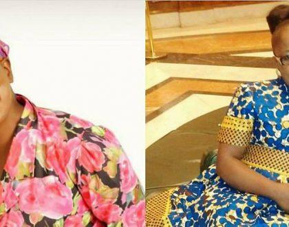 Si kabaya! 10 photos of Papa Shirandula's Mama Nyagothie in real life