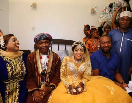 It was the most splendid wedding! Joho attends wedding of the daughter of controversial lawmaker who told women to withhold sex from men (Photos)