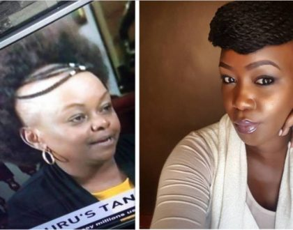 Forget Millie Odhiambo's hilarious hairstyle… Terryanne Chebet just surfaced with another crazy hairstyle (Photos)