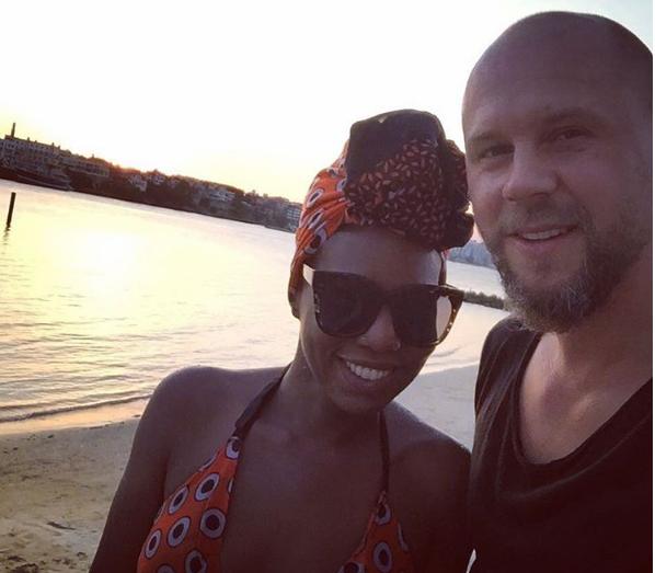 Annabel Onyango and hubby
