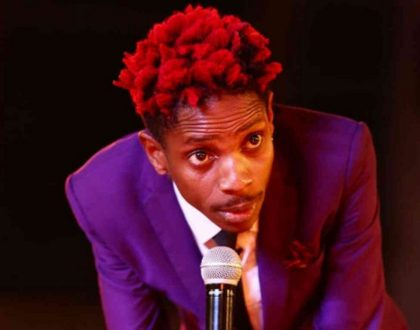Eric Omondi flaunts his younger sisters for the first time