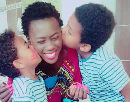 Akothee receives a cute moving love letter from her son, this is what he wrote!