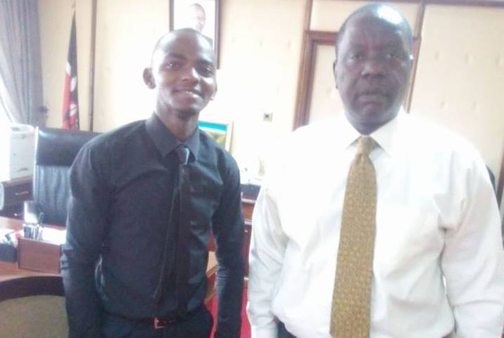 Inspiration Wednesday: Meet the 20 year old intelligent student who was hired by Co-op bank immediately he completed high school