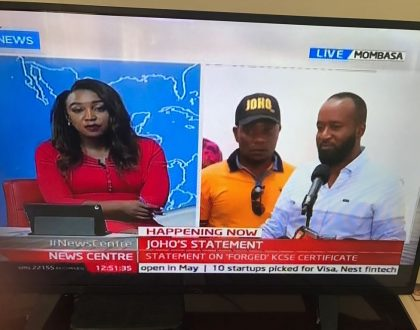 Okari is sneering at Hassan Joho's woes while Betty Kyallo is totally devastated…. Hilarious memes from Twitter trend #JohoGrilling (Photos)