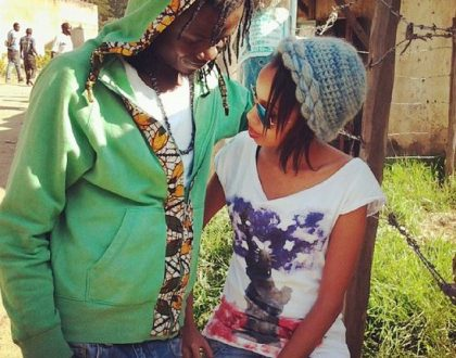 Juliani hints baby mama, Actress Brenda Wairimu is obsessed with material possessions