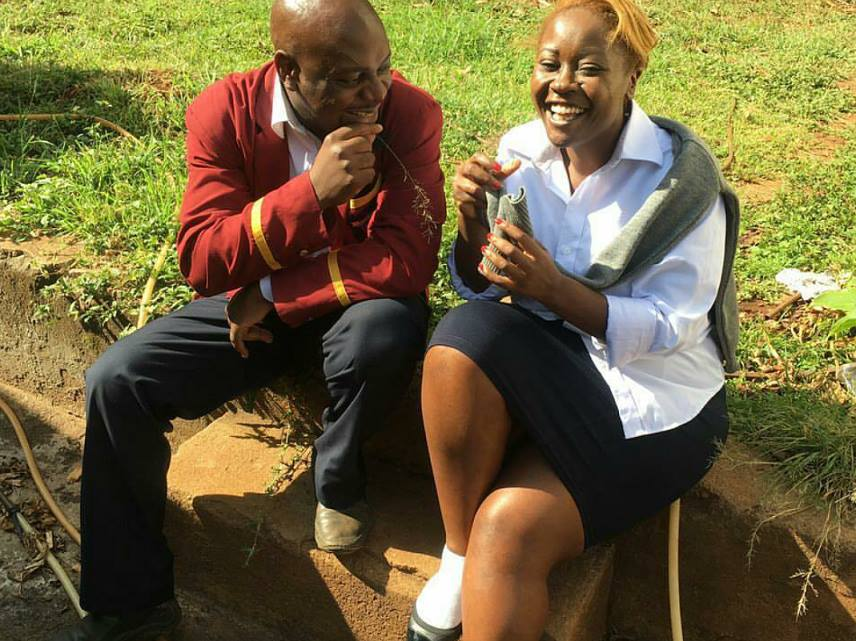 Kalekye Mumo slays in a school uniform as she takes part in #JohoChallenge … The photos and memes on that trend are super hilarious
