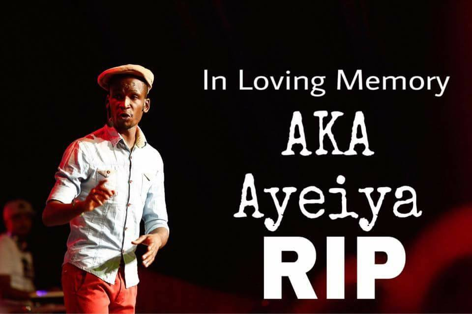 The late Ayeiya's funeral details have finally been shared