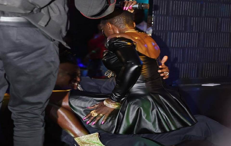 Akothee's ratchet performance in Zurich brought hell closer to earth (Photos)