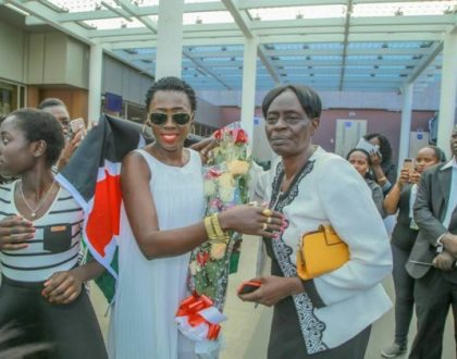 Akothee's mother vies for MCA seat