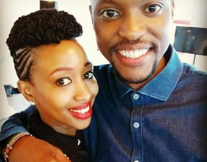 Janet Mbugua's husband Eddie Ndichu demonstrates his taste for classic cars by buying a 1975 vintage Audi (Photos)