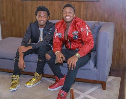 Bahati and Rayvanny