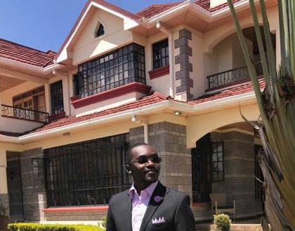 7 photos of the fancy house Saumu Mbuvi's baby daddy Benson Gatu lives in