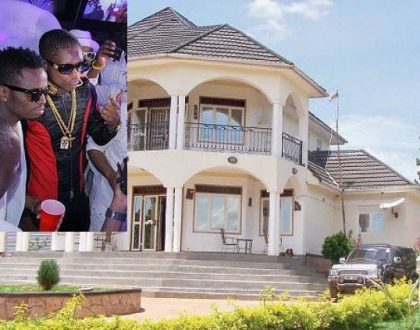 Diamond Platnumz and Jose Chameleone's palatial mansions prove there are no rich musicians in Kenya (Photos)