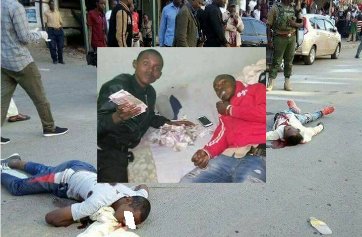 Photos of the expensive lifestyle of the young criminals who were killed like dirty flies by the police in Eastleigh