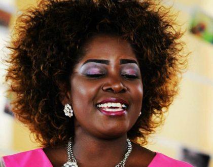 Horror on Gloria Muliro's face: Kenyans tear into gospel singer's disastrous makeup (Photos)