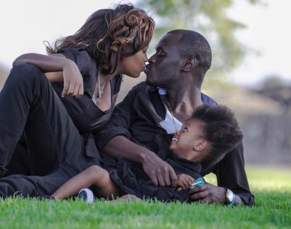 King Kaka with his family
