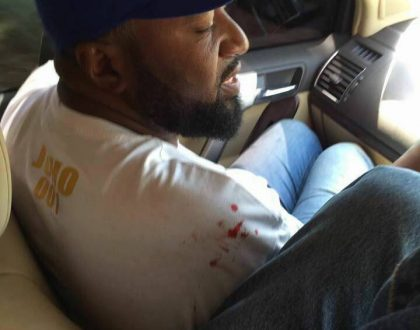 All you need to know about Joho peeing on himself when his vehicle got hit by bullets in Migori (PHOTO EVIDENCE)