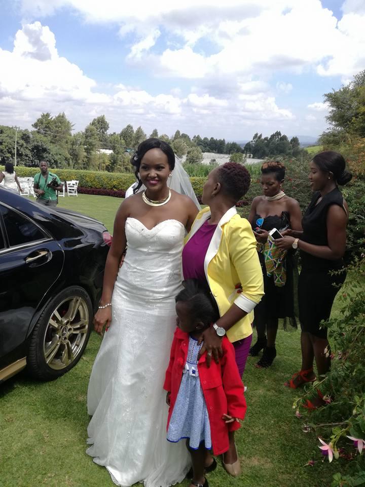 Dennis Okari among groomsmen at Ken Mijungu's wedding… He ...