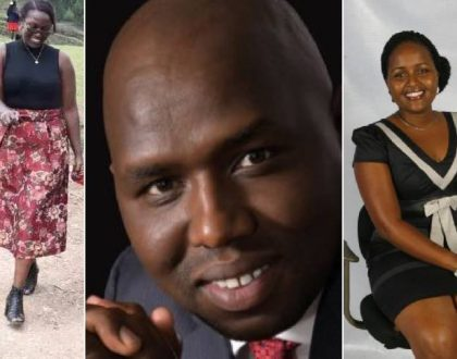 Kipchumba Murkomen shows off his wife in public a few weeks after his love messages to Senator Naisula Lesuuda were leaked (Photos)