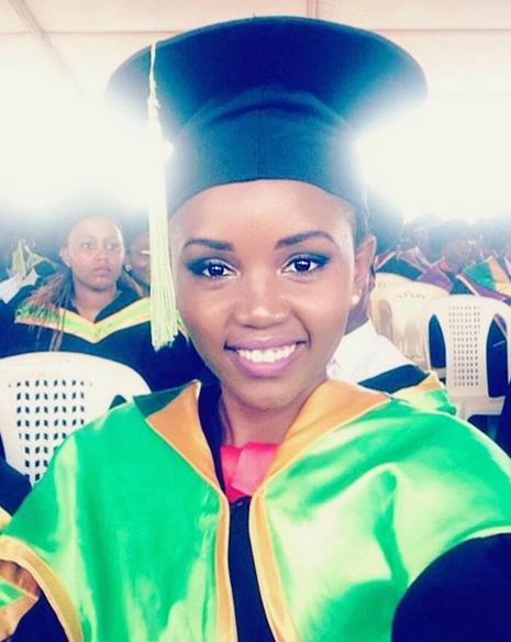 Ladybee's daughter, Yvonne graduates