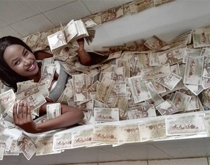 Super rich socialite Lisa Martinez celebrates Cyprian Nyakundi's sentencing in style