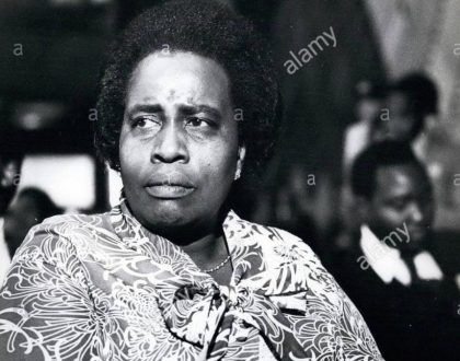 Photos of President Uhuru's elder sister Margaret Wambui Kenyatta who died on Wednesday April 5th aged 89