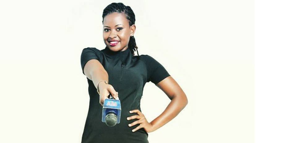 Photos of the beautiful NTV reporter who was kidnapped by unknown people on Saturday