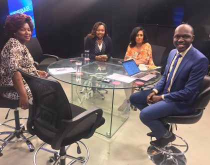 Drama on NTV during interview with Larry Madowo leaves Kenyans cursing Shebesh, Passaris and other female aspirants for Nairobi Women Rep