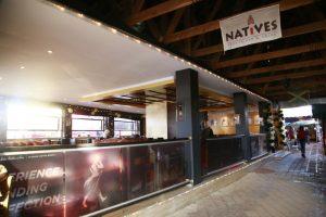 Natives Johnnie Walker bar