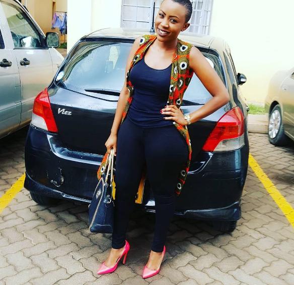 Ofweneke's baby mama, Nicah