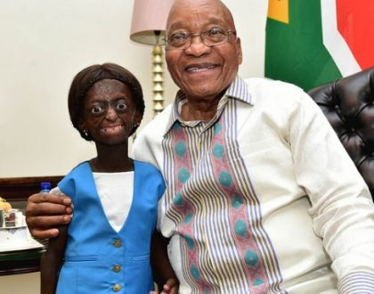 Sad: 18-year old girl trapped in an old woman's body dies a few days after getting her wish granted by South African president (Photos)
