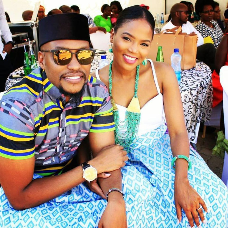 Grace Msalame's ex-husband expecting a baby with his new wife (Photo)