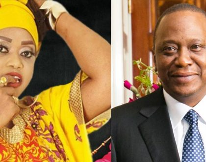 """Aiiii hio hapana"" Ray C declines Ringtone's offer for marriage and insists she wants her all time crush – President Uhuru Kenyatta"