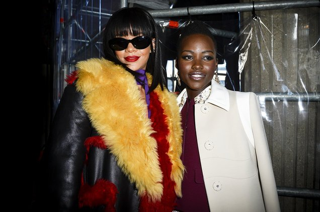 Lupita Nyongo and Rihanna agree to make a movie together from ideas concocted on Twitter