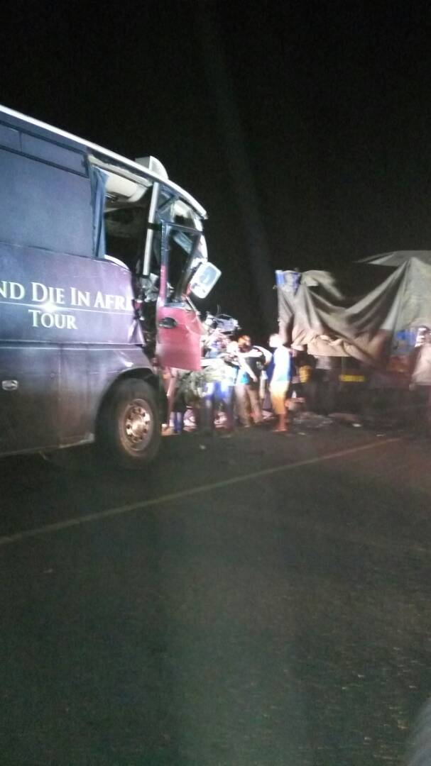 Sauti Sol tour bus involved in an accident,