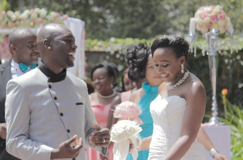 Dennis Okari responds to allegations made by his ex wife about him not being part of their child's life