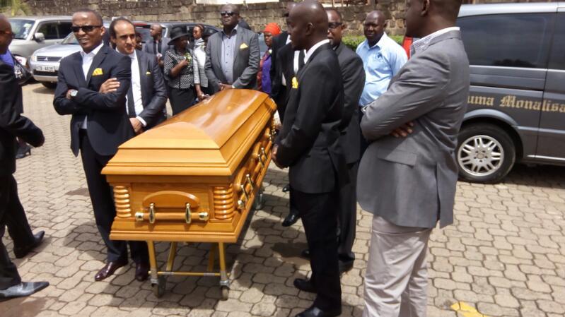 Janet Ikua's funeral