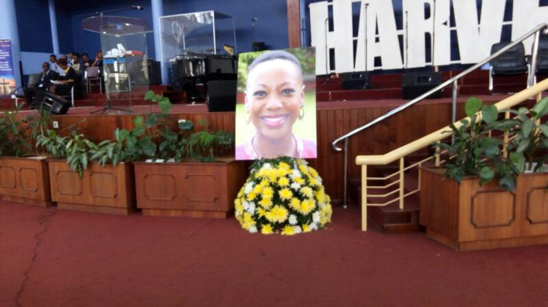 Janet Kanini's funeral service
