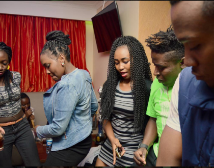 This is how the Kuku Fiesta Pre-Party went down over the weekend...Amos and Josh killed it with their performance(photos)