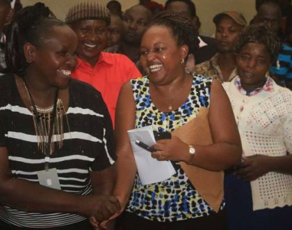 Netizens left cursing Kirinyaga people following Anne Waiguru's historic victory