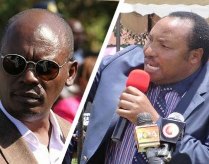Ferdinard Waititu mocks Kabogo in the worst way after beating him hands down...this is the hilarious hashtag he participated in